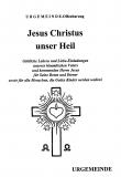Jesus Christus unser Heil 62 Seiten